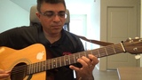 La Playa Instrumental (Composer Claude Ciari - French) Guitar lead and chord lesson by Suresh