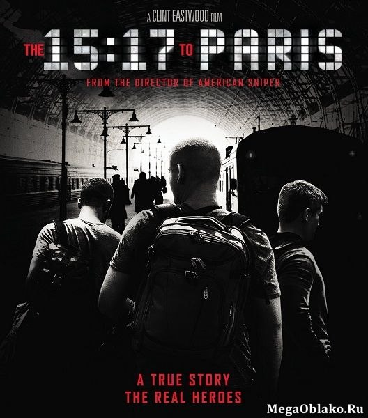 Поезд на Париж / The 15:17 to Paris (2018/WEB-DL/WEB-DLRip)