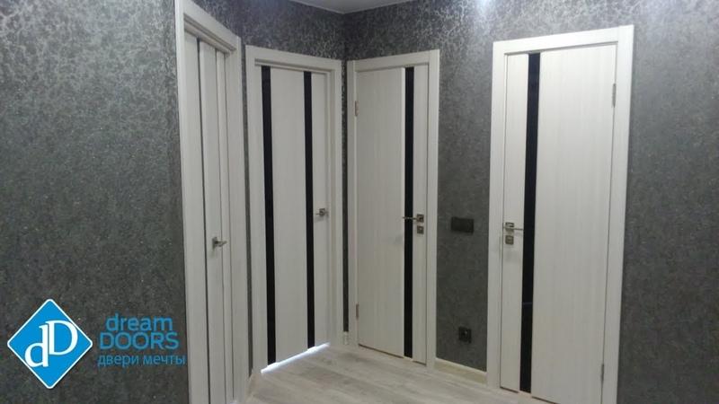 Установка пяти дверей фабрики DreamDoors. Новочебоксарск