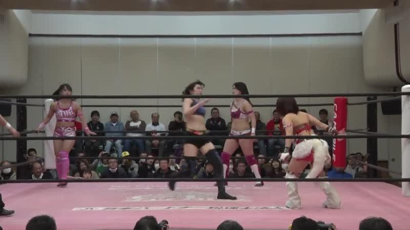 BAKURETSU Sisters (Nodoka Tenma Yuki Aino) Shoko Nakajima vs. Miu Watanabe, Miyu Yamashita Yuki Kamifuku