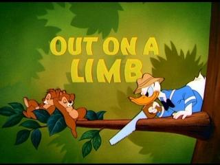 Дональд Дак, Чип и Дейл - Верхом на ветке (15.12.1950) (Out On A Limb)
