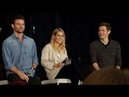 Claire Holt Joseph Morgan Daniel Gillies Nathaniel Buzolic at The Originals panel in New Jersey