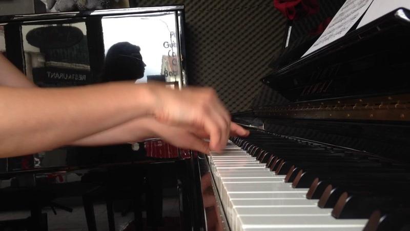 Bach Sicilienne piano / Бах Сицилиана соль-минор сложная версия