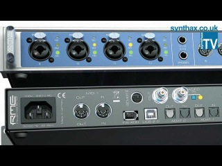 Why upgrade to the RME Fireface UFX? - Synthax TV