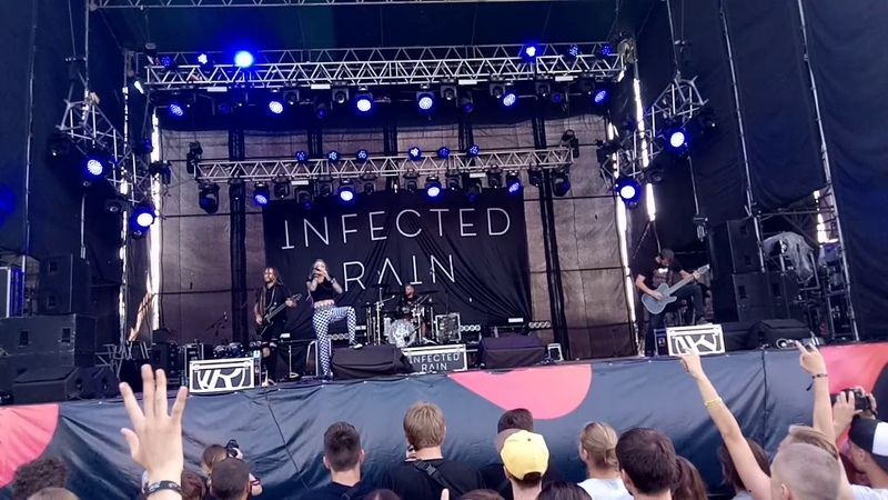 Infected Rain - Fool The Gravity (live at Faine Misto 2018)