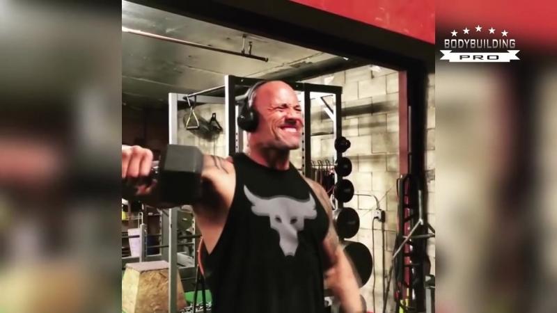 Дуэйн Джонсон ( Dwayne THE ROCK Johnson ) Workout 2018