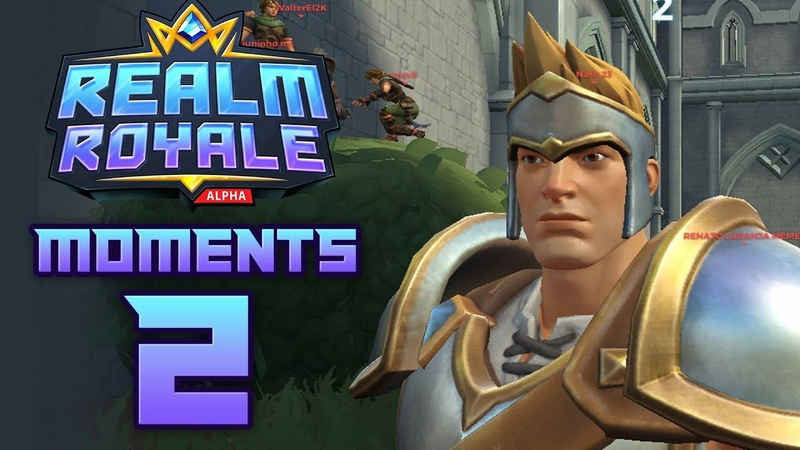 REALM ROYALE Funny Fails and WTF Moments 2