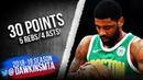 Kyrie Irving Full Highlights 2019.03.18 Celtics vs Nuggets - 30 Pts, 5 Rebs, 4 Asts! | FreeDawkins