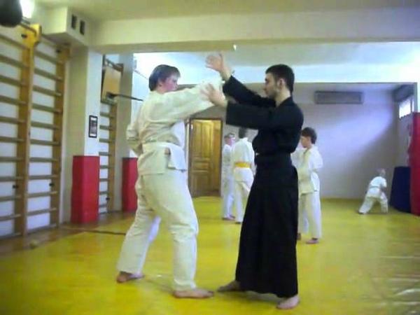 Тренировка Айкидо Ёсинкан. Сей Ки Букан