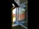 Очистка оконной рамы