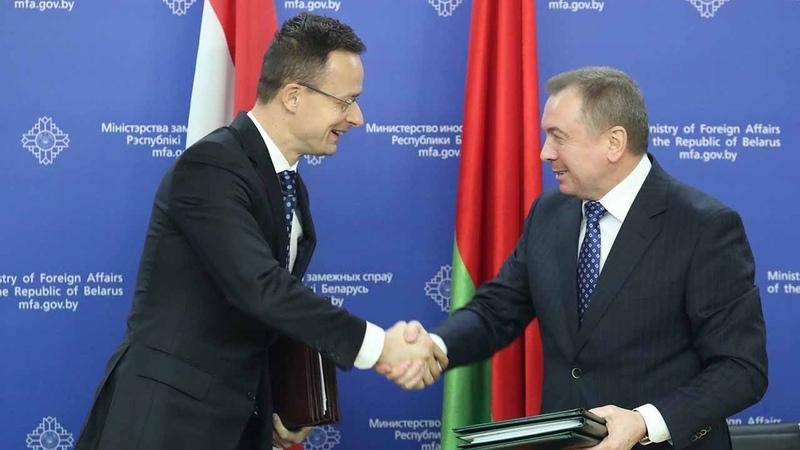 О чём договорились Минск и Будапешт?