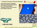 Come with us get our fluent and cost effective Facebook customer service number 1-888-625-3058