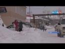 Жители Алдана оказались в снежном плену