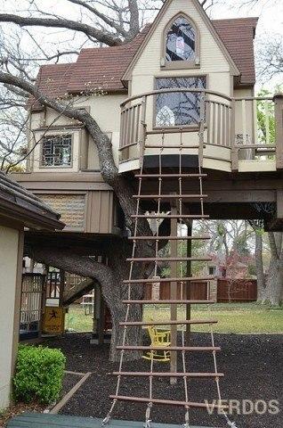 Домик на дереве - это жилье?