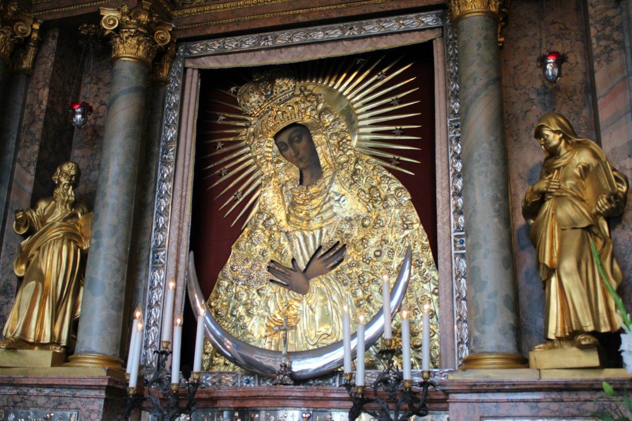 икона Остробрамская Вильнюс