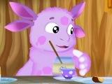 Лунтик смотреть Учим слова новая серия игра как мультик для детей