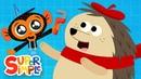 Professor Porcupine's Unusual Truck Problem | Cartoon For Kids