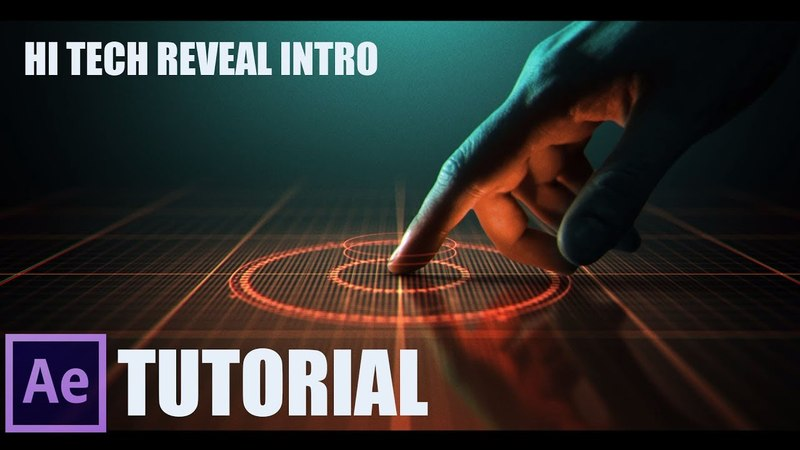 Adobe After Effects Tutorial ▶▶ How to Make Hi Tech Reveal Intro (Easy Way)