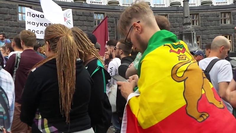 Конопляный марш. Марш свободы 2018. Кабмин