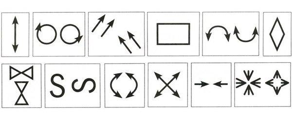 час движения глаз по схеме