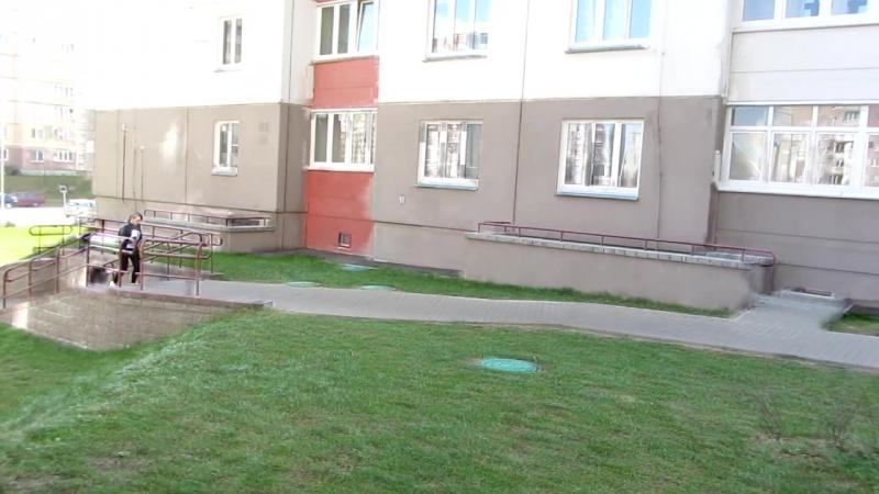 21.04.2018г Минск (вот что бывает когда идёт вырубка деревьев и осушение болот в европе)