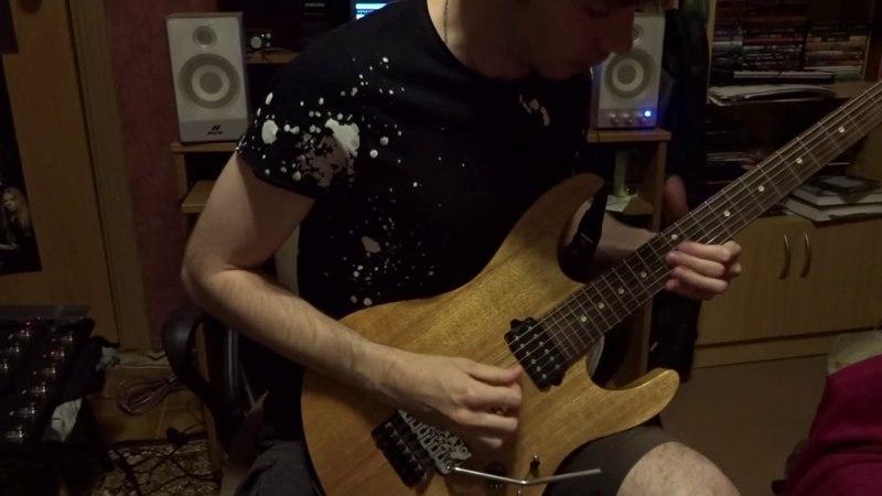 Гитарное соло для конкурса от Fredguitarist и Denis Shvarts