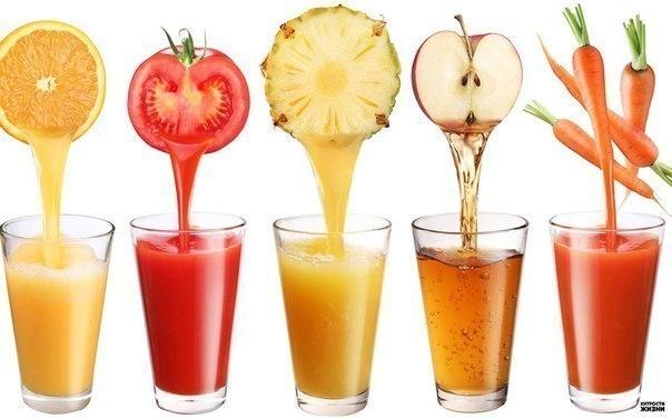 Как сделать оздоровительные соки. Морковь + Имбирь + Яблоко – Поддерживает и укрепляет вашу иммунную систему. Яблоко + Огурец + Сельдерей – Предотвращает рак, уменьшает уровень холестерина, избавляет от расстройства желудка и головной боли . Помидор + Морковь + Яблоко – Улучшает цвет кожи и устраняет запах изо рта. Горький перец + Яблоко + Молоко – предотвращает появление запаха изо рта и снижает температуру. Апельсин + Имбирь + огурец – Улучшает цвет и влажность кожи и снижает температуру.…