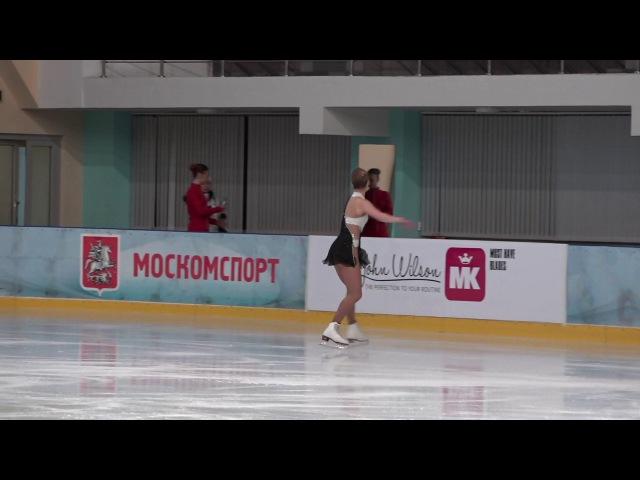 Кубок России Ростелеком 2016 2017, 5 й Жeнщины, MC КП 4 Мария ПЕРЕДЕРОВА СПБ