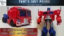 TF Cyberverse (Matrix Mega Shot) Optimus Prime Review! That's Just Prime! Ep. 168!