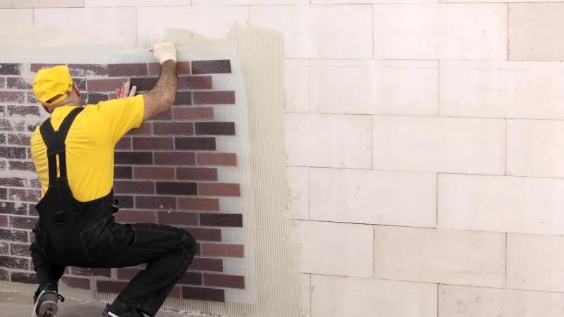 Технология монтажа. Решение для отделки дома из газобетонных блоков.
