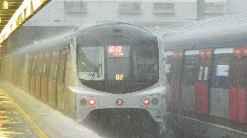 Как ходят поезда при наводнении