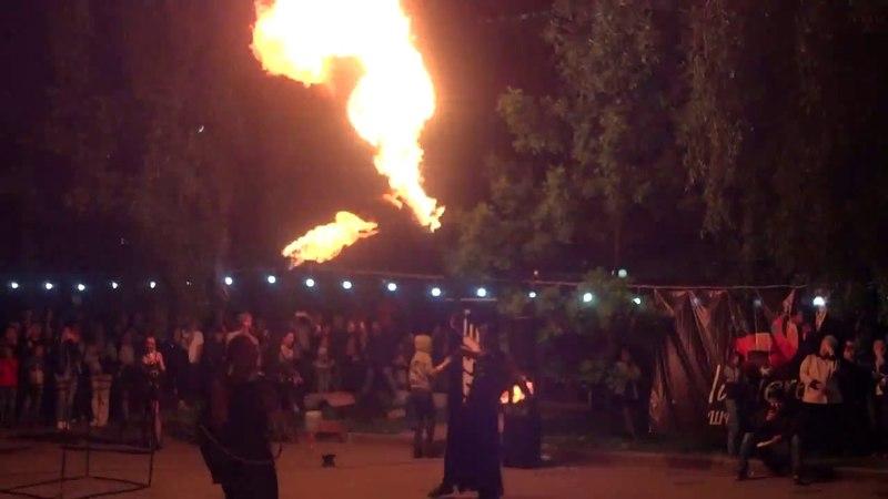 Ночь в музее (18.05.18). Fire-show