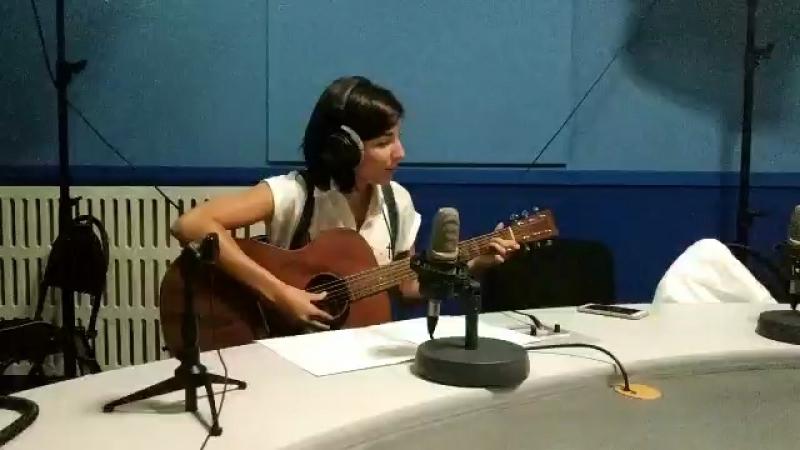 Кристина Мокшина на Радио Маяк — Третье сентября (cover Михаил Шуфутинский)