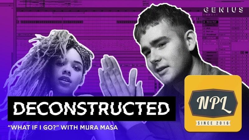 Разбор трека Mura Masa feat Bonzai What If I Go с Mura Masa | Озвучка NPL |