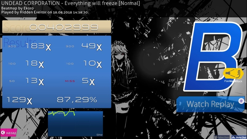 16 NEW VERY EPIC SKIN REVIEW OSU 13 EVERYTHING WILL FREEZE 1080p60