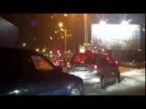 ДТП на кольце Шотмана в Петрозаводске 26.01.2014