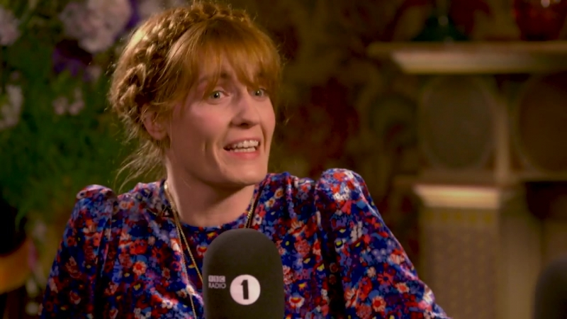 Florence Welch on writing the new album High As Hope — Interview with BBC Radio 1's Annie Mac (Part 2/3)