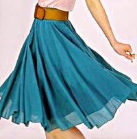 Видео мастер-класс по пошиву юбки