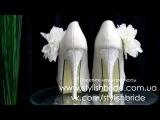 Код 2-8i. Айвори свадебные туфли на высоком каблуке