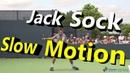 Jack Sock Slow Motion 1st Serve Forehand Backhand Cincinnati 2014