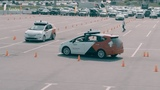Yandex Self-Driving Car test drives for visitors of Moscow Automobile Salon