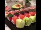 Ленивые суши. Самое простое, что можно сделать своими руками