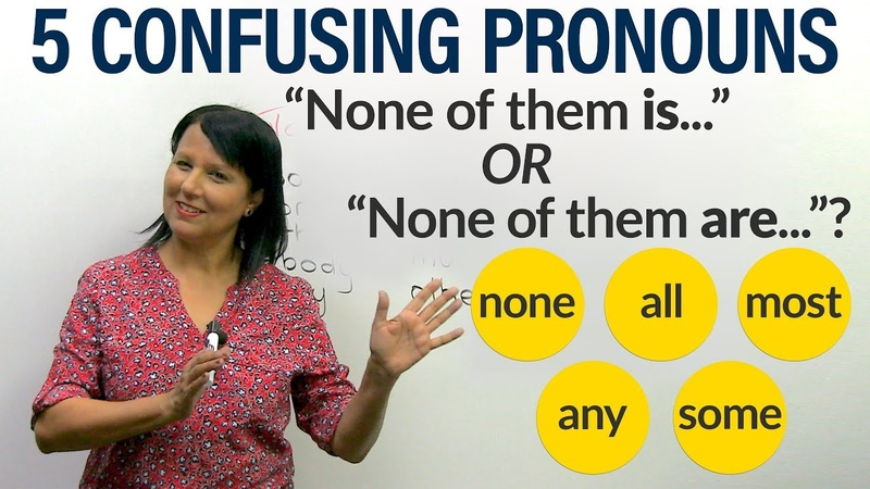 English Grammar: How to use 5 confusing indefinite pronouns