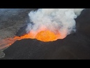 Kilauea Eruption June 17 Latest Aerial Footage Heavy LAZE from Lava Entry