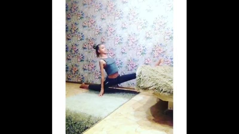 Наша воспитанница: Алена Ломова - старшая группа. @ _paradise_flower  Ответственная, целеустремленная наша гимнастка, не забы