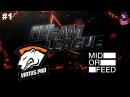 VP vs MidOrFeed RU #1 (bo2) DreamLeague Season 8 Major 07.11.2017