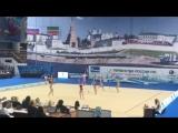 Выступление команды Самарской области на первенстве России по художественной гимнастике (март 2018 год, Казань)