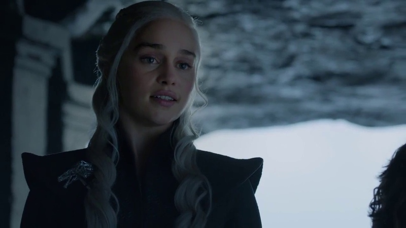 Game of Thrones 7x06 - Tyrion and Daenerys talk about Cersei and succession