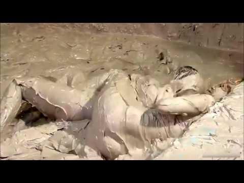 Girl Mud Wrestling Match: Turkish HardyBoy
