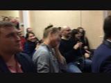 24.01.19 Невские Моржи на встрече активистов Петербургский гражданин Роман Лебедев, Виктор Андропов